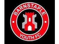Barnstaple Youth U8's football training