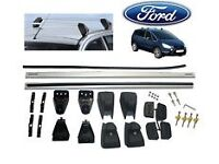 Genuine OEM Ford S-Max Roof Bars Roof Rack With Panoramic Roof 2006 to 2014