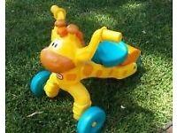 Little Tikes Girraffe Bike for indoor and outdoor