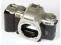 Brand New Pentax MZ-5 Professional Feature 35mm Film SLR Camera body
