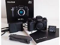 Fuji XT1 camera - digital Leica Fujifilm X Series Body Only with free Canon EOS adapter