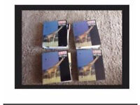 4 Wildlife Factfile Animal Information Folders Collectable Educational