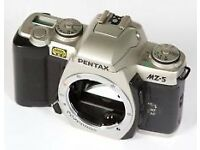 Brand New Pentax MZ-5 Professional Feature 35mm Film SLR Camera body