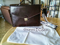 Gianni Conti 100% Genuine Leather MADE IN ITALY