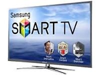 "60""samsung smart tv,ps60f5500, £300 or less, quick sale.got line on right handside."