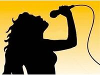 Female Backing Singer Wanted!