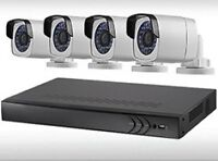 """""""4 X IP Network Camera 1.3 MP bundle Residential Commercial """""""