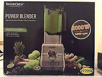 Silver Crest High powered blender 'Brand new' 2000w' Unused