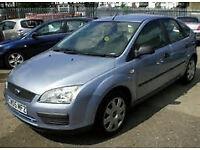 2005 FORD FOCUS AUTOMATIC 5 DOOR HATCHBACK, 1600 CC ENGINE, NICE CAR, LONG MOT.