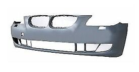 Bmw 5 E61 2007-2010 Front Bumper Primed With Washer Hole No Pdc High Quality New