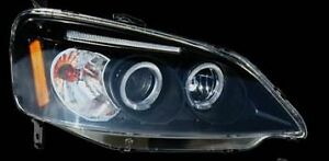 Honda Civic 01-03 Headlight chome with projector LH, RH