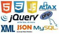 PHP, MySQL, Json, Jquery, Java That's all we need - Juste ça