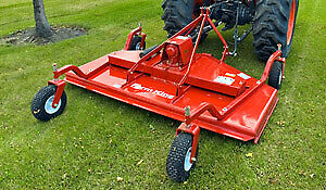 new 7 foot farm king 3 point hitch finishing mower