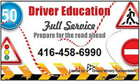 DRIVING SCHOOL,Instructor,ROAD TEST in1-2DAYS,CERTIFICATE course