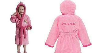 6593aee6eb Girls Personalised Dressing Gown