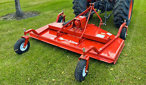 almost new 7 foot finishing mower sell or trade