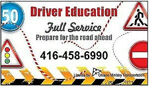DRIVING INSTRUCTOR,Lessons,School,ROAD TEST in 1-2DAY,CERTIFICAT