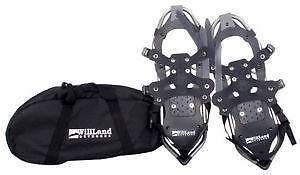 Brand new willand outdoors snowshoes with duffel bag, never used