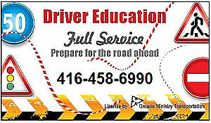 DRIVING SCHOOL,Instructor,ROAD TEST in1-2DAYS,Lesson,CERTIFICATE