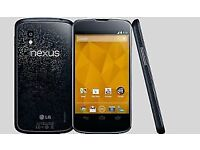 LG Nexus 4- 8GB - Black (Unlocked) Smartphone