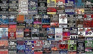 TOM CLANCY - LARGE COLLECTION OF PAPERBACKS