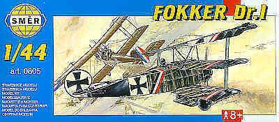 Smer 1/44 Fokker Dr.I 0805