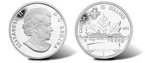 2011 $10 SILVER HIGHWAY OF HEROES CANADA with CAO