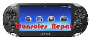 Console repair PSP,Vita,Wii,Switch,DS etc with 3 months warranty