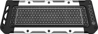 New Fugoo   Tough Xl Portable Bluetooth Speaker   Black Aluminum Fxltfks01