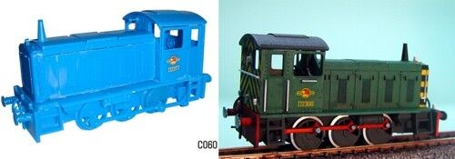 Dapol 1/76 OO Gauge Drewry Shunter locomotive model kit # C60