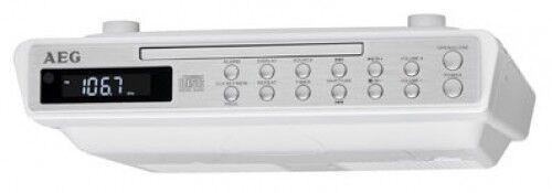 Radio da cucina sottostruttura CON PLL FM CD e Aux In AEG KRC 4376