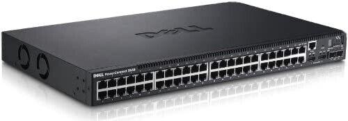 Dell PowerConnect 5548 48-Port 10/100/1000Base-T Gigabit Switch SFP 2x HDMI