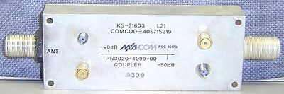 Ma-com 3020-4099-00 -40 To -50 Db Dual Directional Coupler Ks-21603 Macom Ma