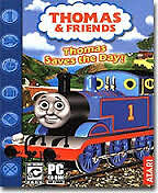 THOMAS TRAIN & FRIENDS - THOMAS SAVES THE DAY,  PC GAME BY ATARI