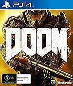 PS4 - DOOM mint condition Inglewood Stirling Area Preview