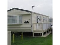 8 berth luxury caravan to let 2017.on fantasy island complex eastgate site ingoldmells skegness.