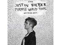 Justin Bieber O2 12th October x 3 seats Blk 103 great seats