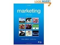 Marketing - third edition Paul Baines and Chris Fill Book