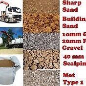 Sand jumbo bulk bag