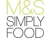 Job vacancies available at Marks and Spencer, Weston Lock (approx. 1.5 miles outside Bath centre)