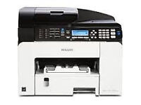 New Ricoh SG3100 Colour All In One Printer 12 Mths Warranty 2500 pages bk, 2200 pages cl, laptop PC