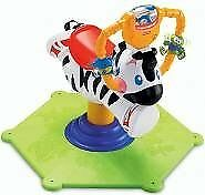 Fisher-Price Bounce 'N Spin Zebra - new, never used
