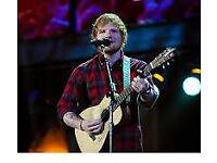 2x Ed Sheeran tickets 9th May Boucher road £250