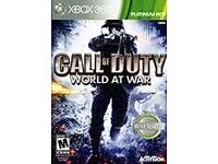 xbox 360 game call of duty would at war