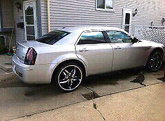 2009 Chrysler 300 new engine 42,000 km