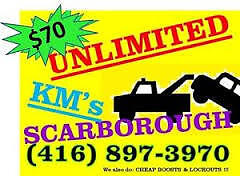 CHEAP TOWING $70 SCARBOROUGH 416-897-3970
