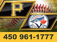 Blue Jays vs Pirates MONTREAL MARCH 31 AND APRIL 1, 2017
