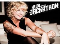 WAREHOUSE PROJECT~HEIDI PRESENTS THE JACKATHON~FACE VALUE TICKETS~100% TRUSTED SELLER