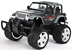 JEEP WRANGLER W.WINCH BLACK  160003 Carrera RC