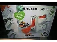 brand new salter spiralizer